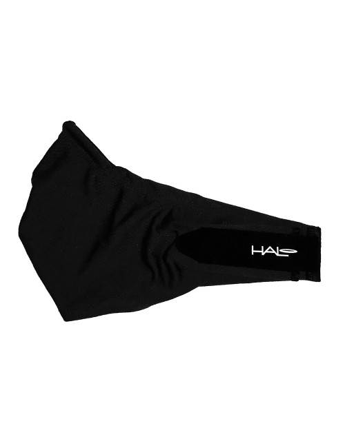 Halo V Velcro Headband - Black