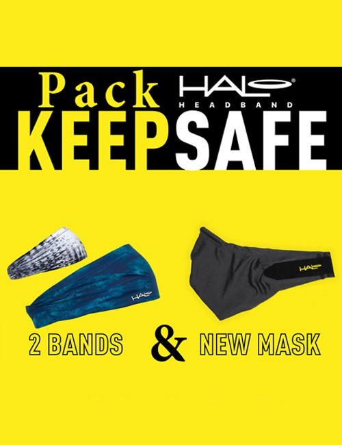 Pack Keep Safe - 2 Bands 1 Mask