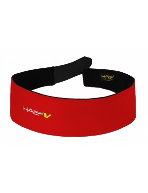 HALO V VELCRO® HEADBAND - Rouge