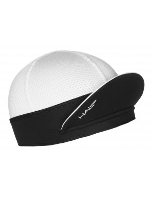 HALO CYCLING CAP - White